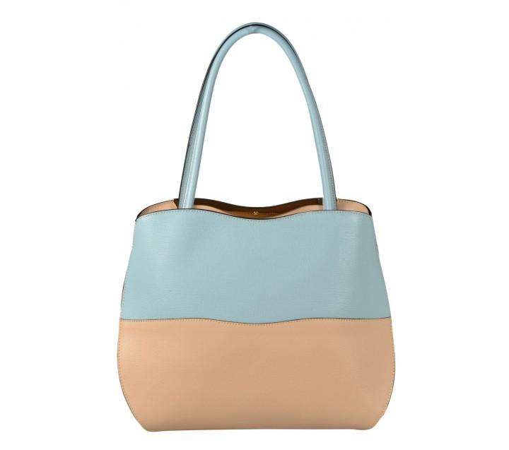 Ripani сумка 8034 кожа голубой/чиприя