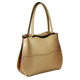 Ripani сумка 8034 кожа металлик платина