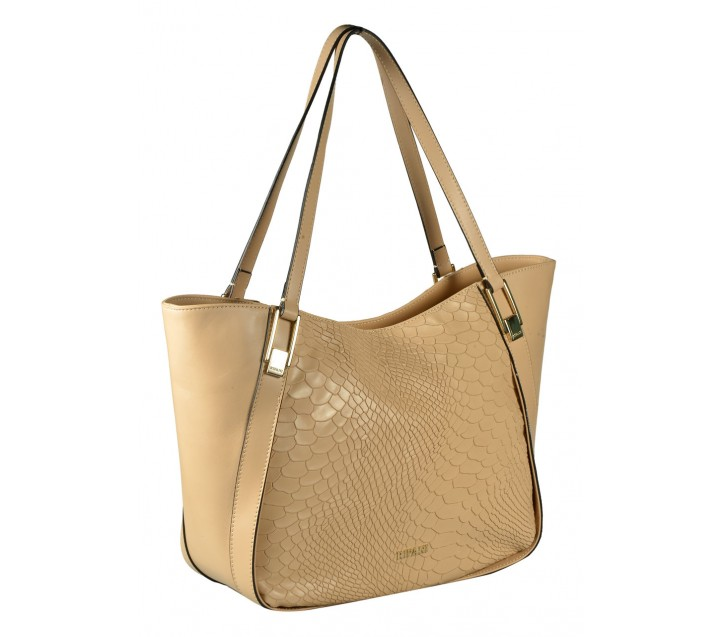 Ripani сумка 8372 кожа бежевый