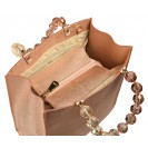 Roberta Gandolfi сумка 1441 калф металлик роза