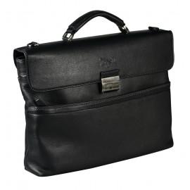 Tonelli UOMO портфель м3063 кожа виши черный