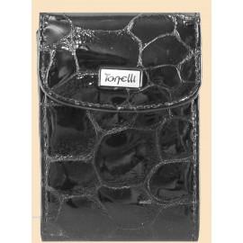 Tonelli визитница п2740 кроко акапулько черный