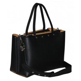 Gironacci сумка 1180 кожа черный/койо