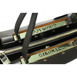 Gironacci сумка 1181 кожа черный/черный