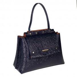 Gironacci сумка 1183 кожа наплак синий