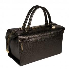Gironacci сумка 1470 кожа металлик антрацит