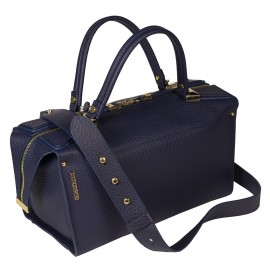 Gironacci сумка 1470 кожа синий/синий