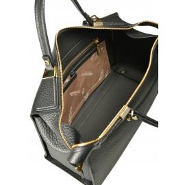 Gironacci сумка 1470 кожа черный/черный