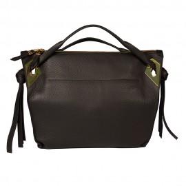 Gironacci сумка 1571 кожа черный