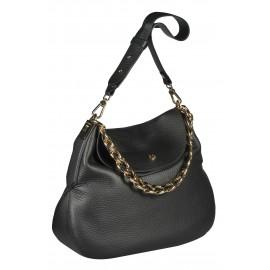 Gironacci сумка 1672 кожа черный/черный