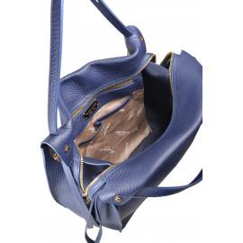 Gironacci сумка 1681 кожа синий/синий