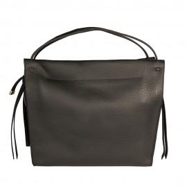 Gironacci сумка 1681 кожа черный/черный
