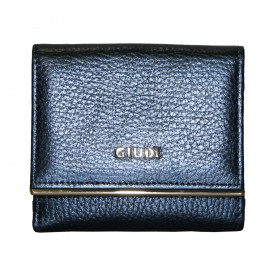 Giudi кошелек п7323/CIN/AE-07 кожа чинзано синий