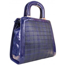 Lara сумка 9361 кожа/кортеса синий