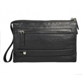 Giudi UOMO сумка м5861 кожа черный