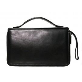 Giudi UOMO сумка м4647 кожа черный
